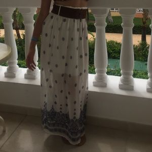 LOVE CULTURE BOHO CHIC SKIRT